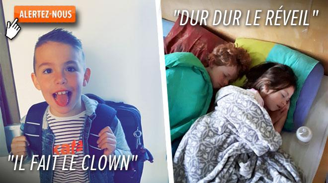 Votre rentrée des classes CRAQUANTE sur RTL INFO: vos images et petits mots pour le retour à l'école