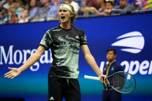 US Open: Zverev éliminé en 8es par Schwartzman