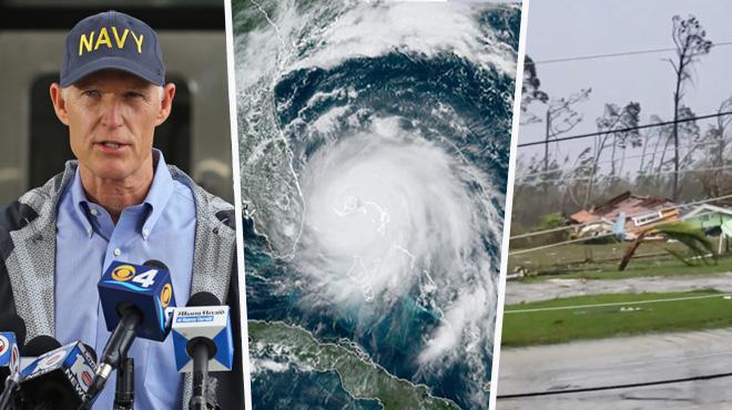 L'ouragan Dorian s'est déchaîné sur les Bahamas et a tué 5 personnes: