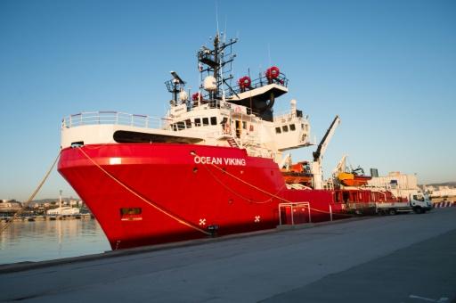 Migrants: l'Ocean Viking quitte Marseille pour sa deuxième mission de sauvetage
