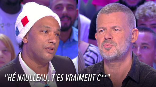 Doc Gynéco insulte Éric Naulleau sur le plateau de TPMP: Cyril Hanouna le fait sortir