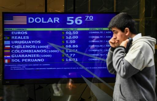 Contrôle des changes en Argentine: la Bourse dévisse, les perspectives s'assombrissent