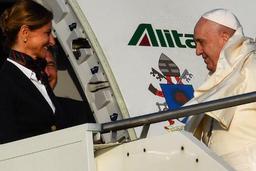 Le pape s'envole pour le Mozambique