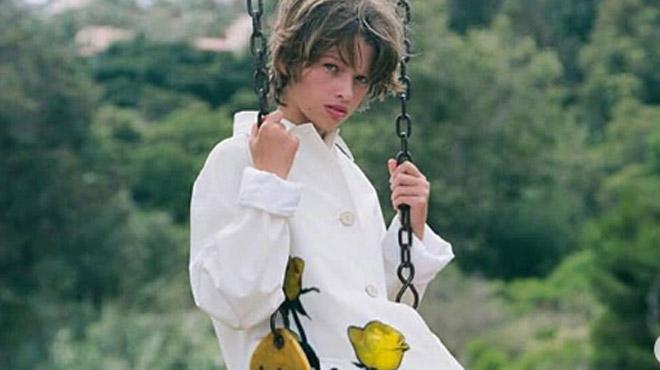 Sa maman était très célèbre dans les années 90: de qui cette jeune mannequin est-elle la fille?