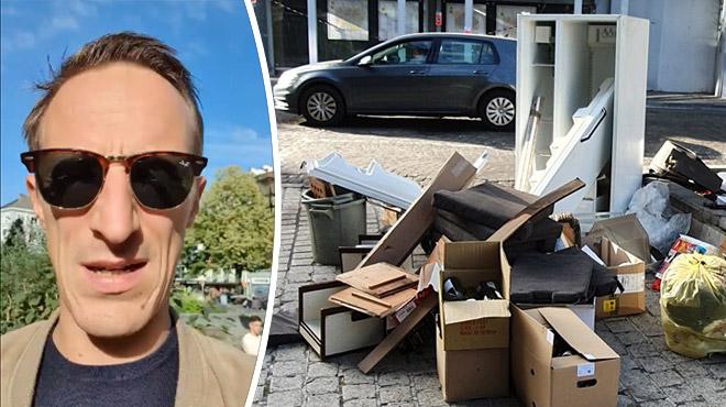 Colère d'un commerçant à Liège: