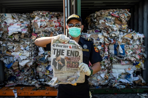 L'Indonésie a renvoyé plusieurs centaines de conteneurs de déchets non conformes