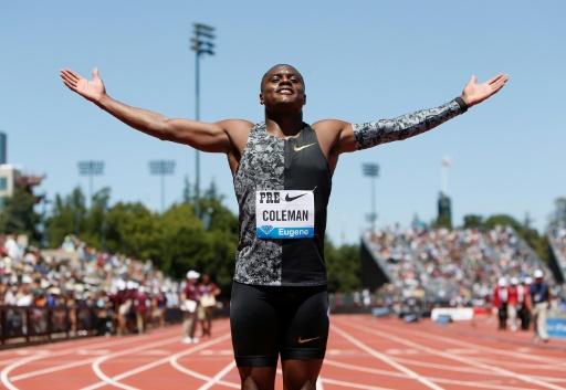 Athlétisme: l'AMA et l'AIU ne feront pas appel pour Christian Coleman
