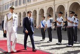 Le nouveau gouvernement italien est formé et prêtera serment jeudi