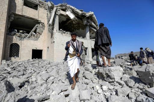 Yémen: 3 jours après un raid meurtrier, les secours toujours à l'oeuvre