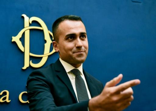 Italie: Luigi di Maio, le jeune leader des Cinq Etoiles à la tête de la diplomatie