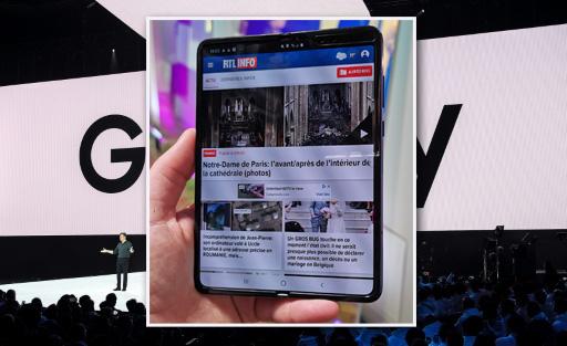 Samsung (re)lance finalement son smartphone pliable cette semaine