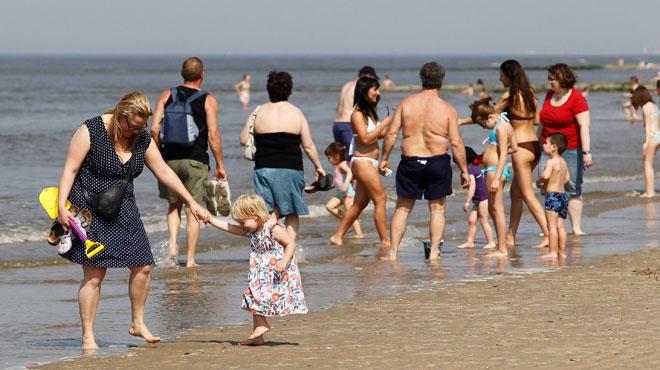 Il y a eu beaucoup moins d'enfants égarés à la Côte cet été