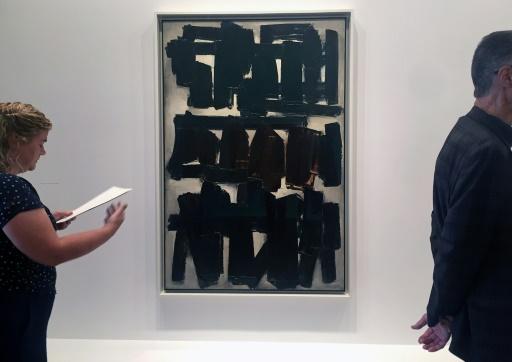 Avant le Louvre, Soulages célébré à New York, terre d'adoption