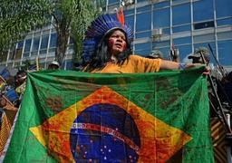 Extinction Rebellion revendique la déprédation de l'ambassade du Brésil