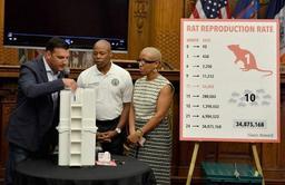 Face aux rats, New York tente le bain d'alcool