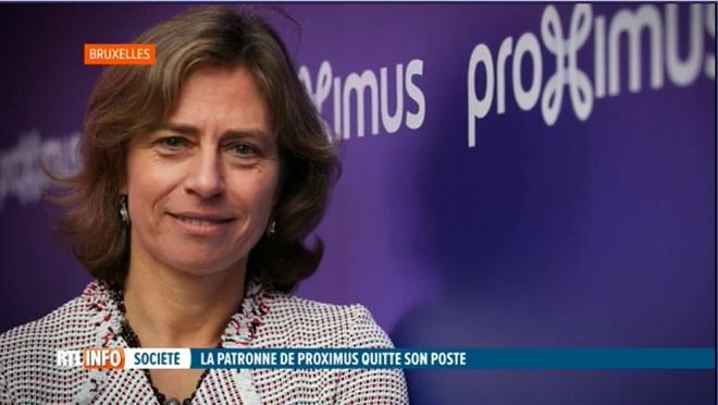Dominique Leroy, CEO, annonce son départ de Proximus en pleine restructuration: les partenaires sociaux sont inquiets
