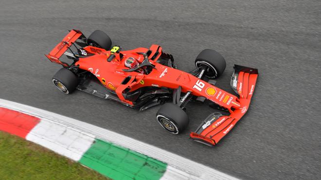 F1: Charles Leclerc une nouvelle fois le plus rapide à Monza