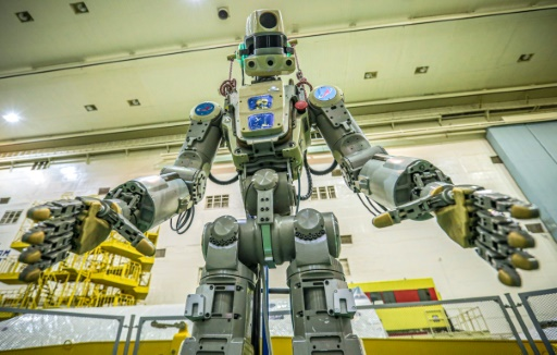 Le robot humanoïde russe Fedor quitte l'ISS