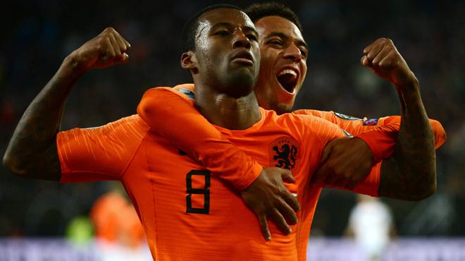 Qualifications Euro 2020: les Pays-Bas surclassent l'Allemagne (vidéos)