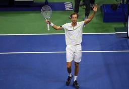 US Open - Medvedev bat Dimitrov et part pour sa première finale en Grand Chelem