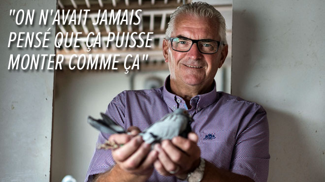 Voici Joël Verschoot, le Belge au pigeon qui valait UN MILLION (photos)