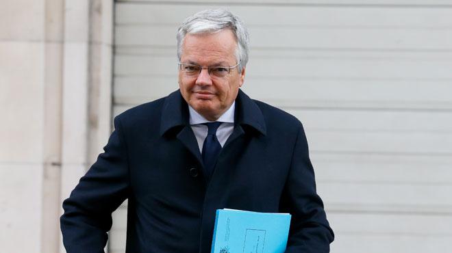 Didier Reynders bien parti pour être nommé commissaire européen du Budget