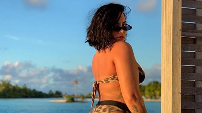 Demi Lovato décide de ne plus retoucher son image sur Instagram: