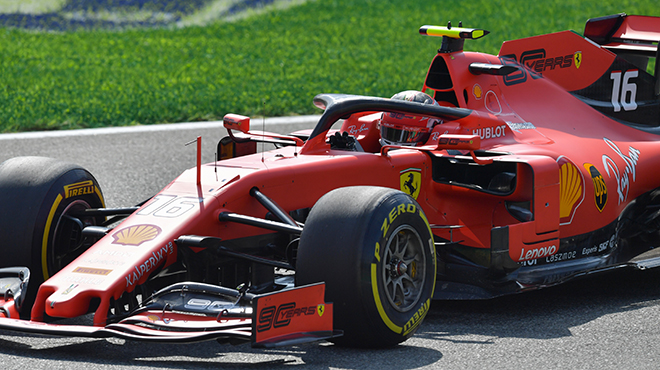 Charles Leclerc enchaîne avec une pole position à Monza