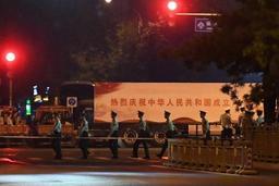 Pékin bouclé pour un défilé militaire nocturne