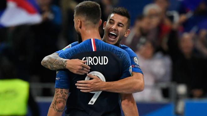 Qualifications Euro 2020: la France ne fait qu'une bouchée de l'Albanie
