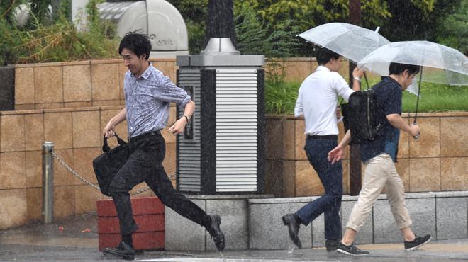 Japon: le violent typhon Faxai menace Tokyo
