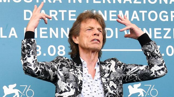 Mick Jagger s'en prend à Trump pendant la Mostra de Venise
