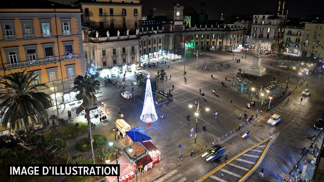 Italie: une touriste belge s'effondre sur la Piazza Garibaldi à Naples avant de décéder