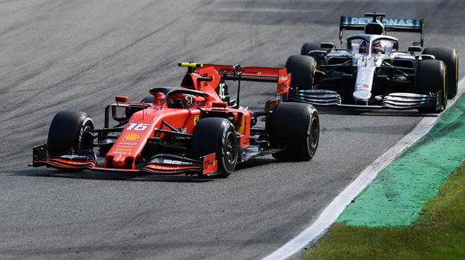 F1: Charles Leclerc résiste aux Mercedes et remporte un GP d'Italie phénoménal