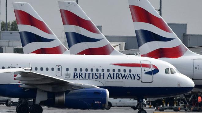 Grève monstre des pilotes de British Airways: la quasi totalité des vols annulée