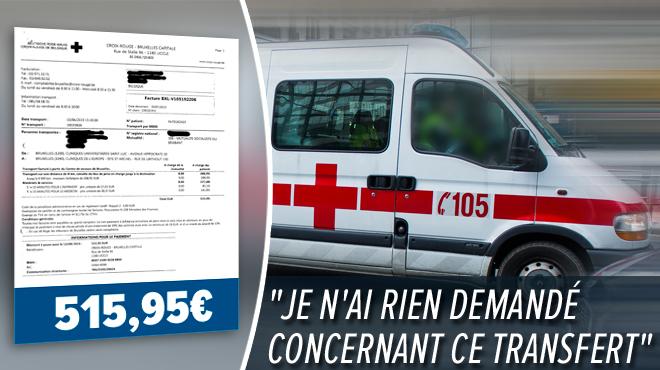 Patrick reçoit une facture de 515 euros pour 8 km en ambulance entre deux hôpitaux: