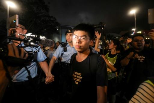 Hong Kong: le militant pro-démocratie Joshua Wong en route pour l'Allemagne