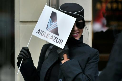 Aigle Azur: une centaine de salariés rassemblés devant le ministère des Transports