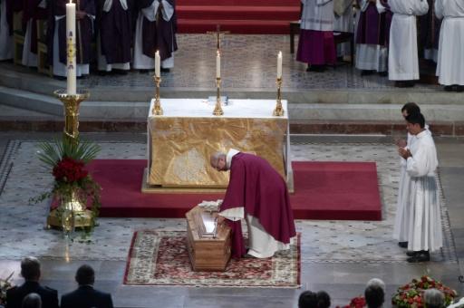 A Bayonne, les adieux au cardinal Etchegaray,