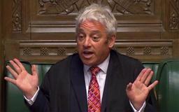 Le président de la Chambre des communes, John Bercow, annonce sa démission prochaine