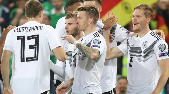 Qualifications Euro 2020: l'Allemagne se rassure un peu en Irlande du Nord