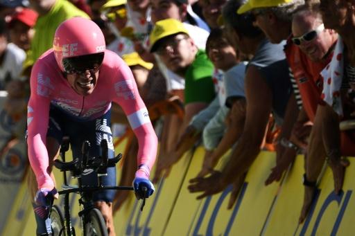 Cyclisme: Uran récupère de sa chute dont il dit avoir survécu