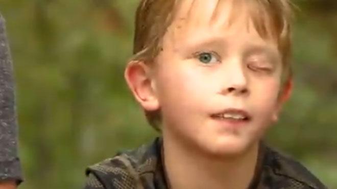 Un petit garçon de 8 ans survit à l'attaque d'un puma: il raconte ce moment terrifiant (vidéo)
