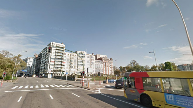Un piéton heurté par un bus dans le centre de Liège