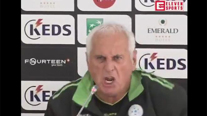 Déchaîné, le coach du Kosovo exprime toute sa passion avant le choc contre l'Angleterre (vidéo)