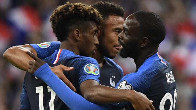 Qualifications Euro 2020: la France bat l'Andorre et reste première ex-aequo (vidéos)