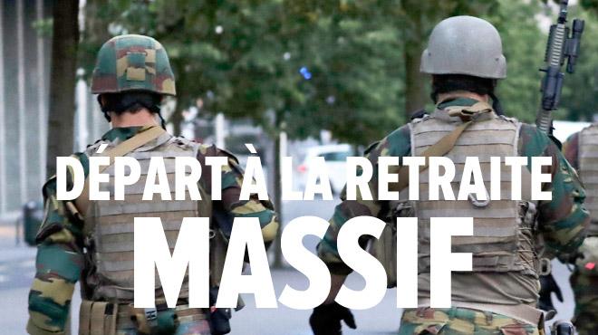 L'armée va perdre près de la moitié de son personnel: elle se cherche un manager de crise