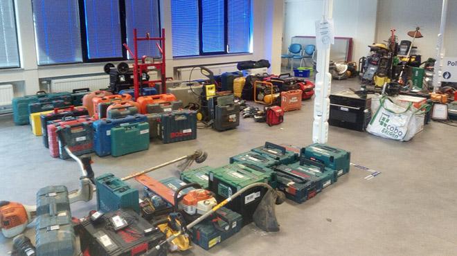 Des centaines d'objets volés dans des habitations de la région de Liège RETROUVÉS: voici les photos