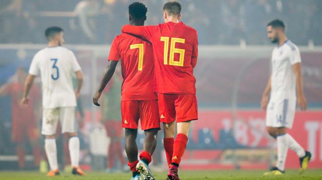 Qualifications Euro Espoirs: nouvelle désillusion pour les Belges, accrochés par la Bosnie-Herzégovine