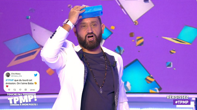 Cyril Hanouna blessé en direct dans TPMP: